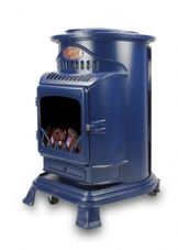 Provence Portable Real Flame Gas Heater - Blue fire